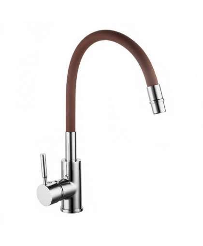 Смеситель Gross Aqua ColorFlex 3241508BR гибкий коричневый