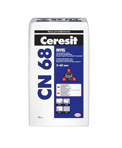 Самонивелир Ceresit CN 68 25 кг