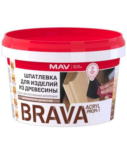 Шпатлевка MAV Brava Acryl Profi-1 0.5 л