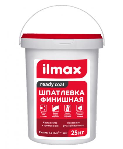 Шпатлевка ilmax ready coat Финиш полимерная 25 кг