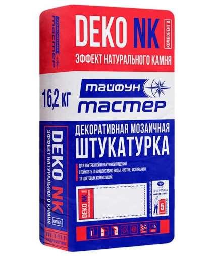 Штукатурка Тайфун Мастер DEKO NK Базальт 01 декоративная мозаичная 16.2 кг