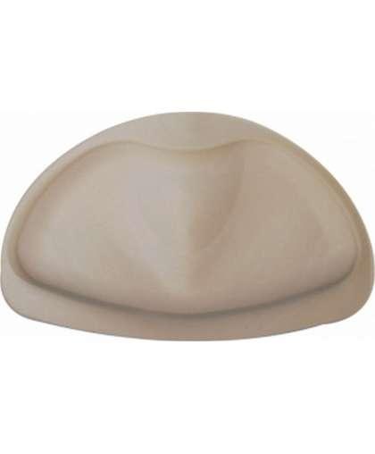 Подголовник для ванной резиновый 30*20 см (арт. 68609, код 684497) бежевый, Ridder