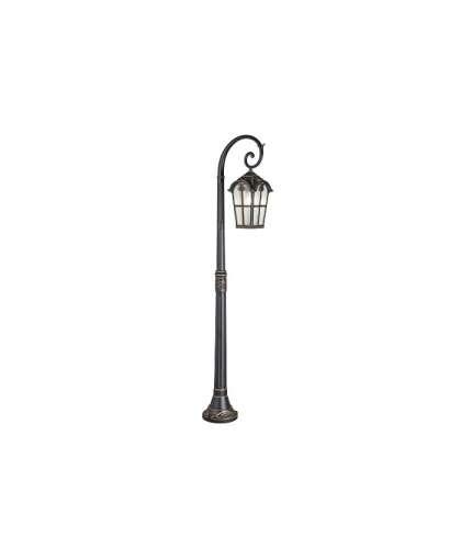 Светильник Elektrostandard Mira F GL 1001F садово-парковый черное золото