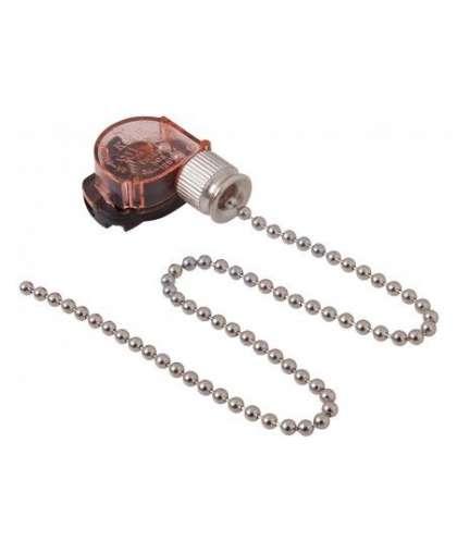Выключатель для настенного светильника с цепочкой 270 мм Silver PROC, Rexant