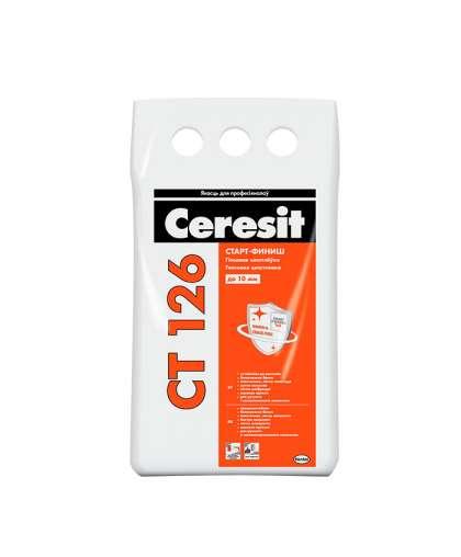 Шпатлевка Ceresit CT126 Старт-Финиш гипсовая 5 кг