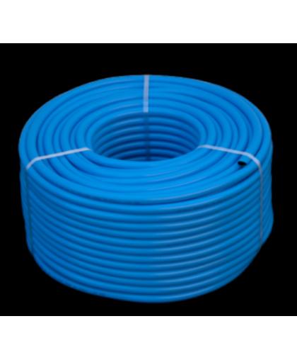 Шланг армированный резиновый W TL 6.3*3.5 мм 20 бар синий для кислорода