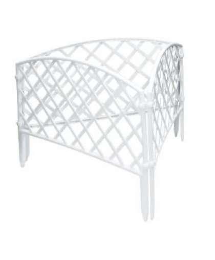Забор декоративный Сетка Palisad 65021 24*320 см белый