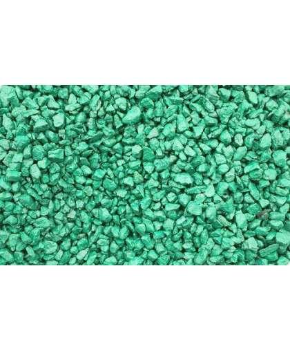 Щебень декоративный гранитный зеленый 20 кг Каменный двор