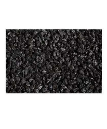 Щебень декоративный гранитный черный 20 кг Каменный двор