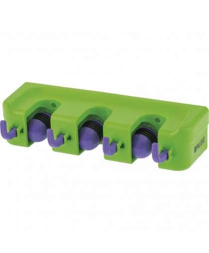 Настенный держатель для садового инструмента Palisad 68301 3 ячейки 4 крюка