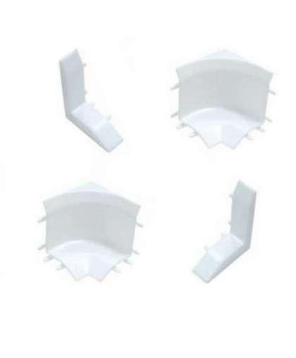 Набор комплектующих для галтели с мягкими краями Идеал 001 Белый