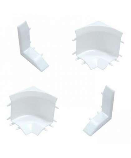Набор комплектующих для универс. бордюра на ванну Идеал 001-G Белый