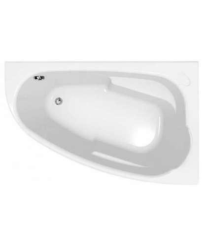 Ванна акриловая Cersanit Joanna New 150*95 см S906-001 правая с ножками