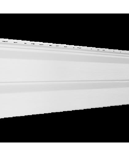 Сайдинг Ю-Пласт Корабельный брус Белый