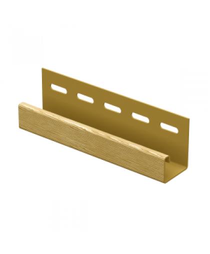 J-планка ПВХ Ю-Пласт 0044.Н. Дуб кантри золотой