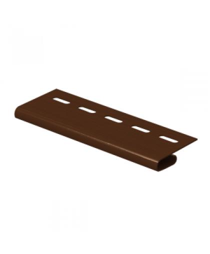 Завершающая планка Ю-Пласт коричневый