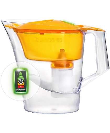 Фильтр-кувшин для очистки воды Барьер Чемпион Опти Лайт 4 л сочный апельсин