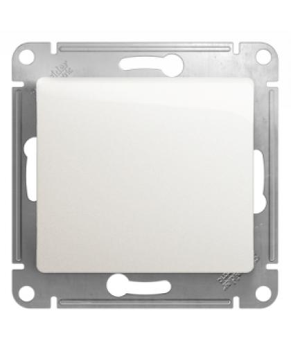Выключатель Glossa GSL000611 1 клавиша без подсветки перламутр, Schneider Electric