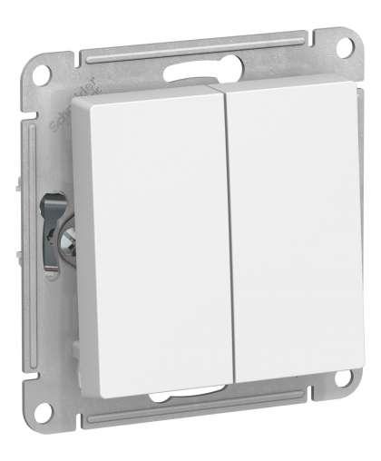 Переключатель AtlasDesign ATN000165 белый, Schneider Electric