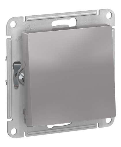 Переключатель AtlasDesign ATN000361 1 клавиша алюминиевый, Schneider Electric
