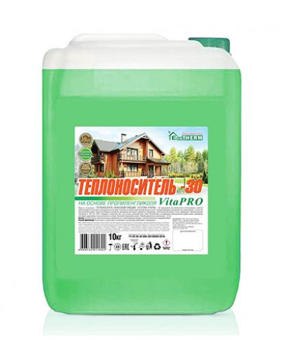 Теплоноситель EcoTherm VitaPro -30С 10 кг