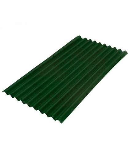 Лист кровельный Onduline smart зеленый 1.95*0.95 м