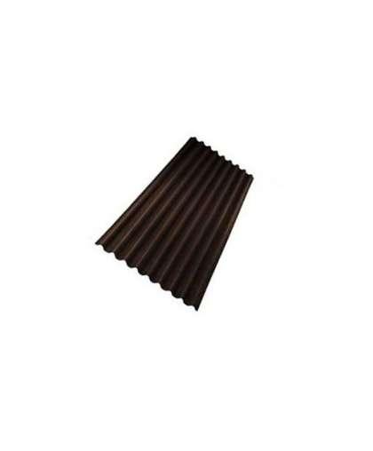 Лист кровельный Onduline smart коричневый 1.95*0.95 м