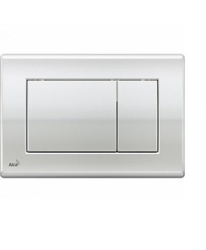 Кнопка для инсталляции Alcaplast M271 хром - глянцевая
