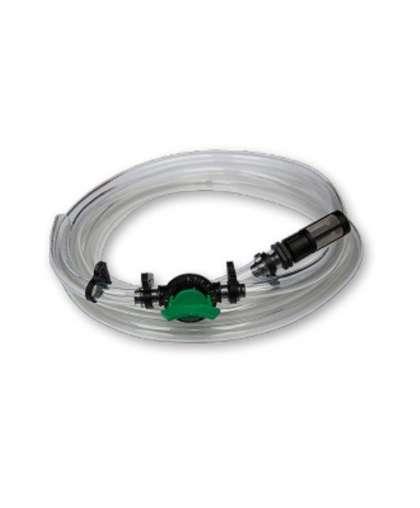 Всасывающий шланг Bradas КПИ-3 с краном и фильтром для инжектора удобрений 3/4