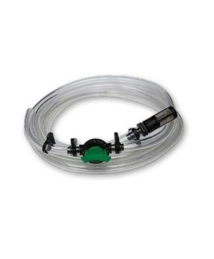 Всасывающий шланг Bradas КПИ-6 с краном и фильтром для инжектора удобрений 1