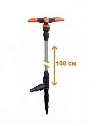 Разбрызгиватель Жук 4510-00 удлиненный четырехлепестковый 100 см
