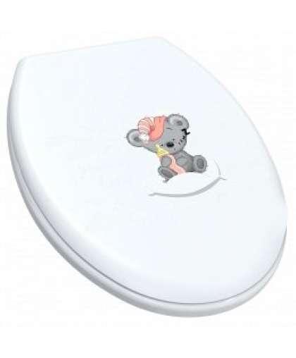 Сиденье для унитаза Berossi АС 15801300 снежно-белый Mommy love 1