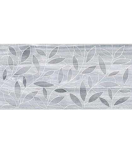 Вставка Laparet Bona leaves 08-03-06-1344-4 200*400 мм темно-серый