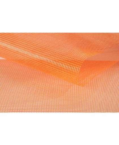 Стеклосетка штукатурная 5*5 мм160 г/м.кв 1 м 2000/2000 оранжевая