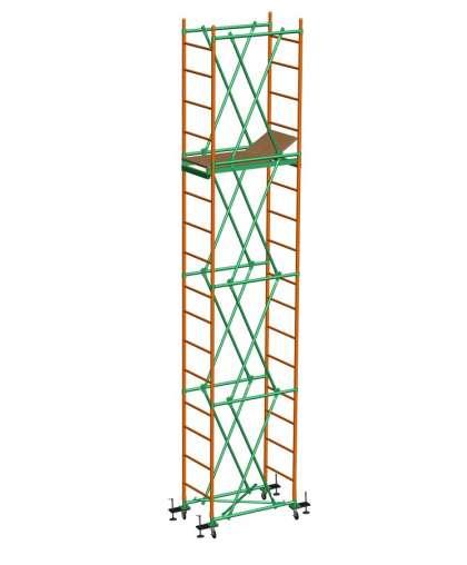 Вышка Спектр -12 в комплекте (база + 3 секции), Ринстрой