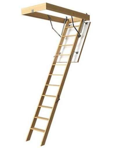 Лестница чердачная Döcke PREMIUM 70х120х300