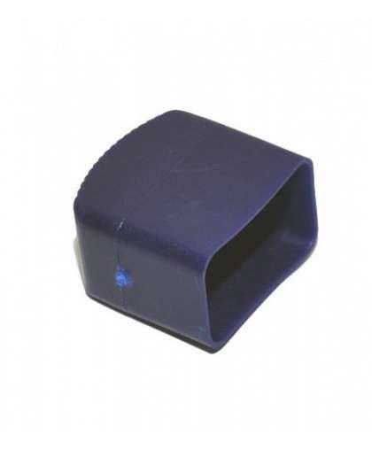 Заглушка синяя 33*20 с бортиком