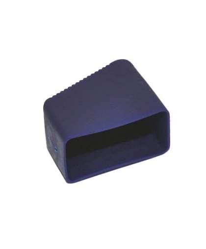 Заглушка синяя 40*20 с бортиком