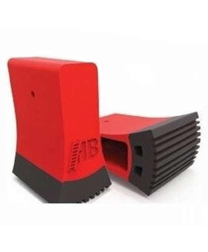 Башмак траверсы двухкомпонентный Новая высота 3920006 61*20 см красный/черный
