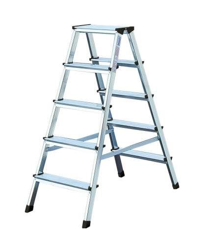 Лестница двухсекционная Tarko 04204 2*4 ступени 0.8 м