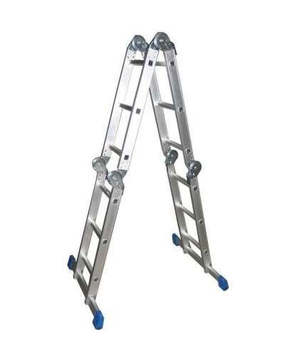 Лестница четырёхсекционная шарнирная T03404, Tarko