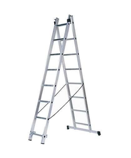 Лестница двухсекционная Tarko 01207 2*7 ступеней макс высота 3.13 м