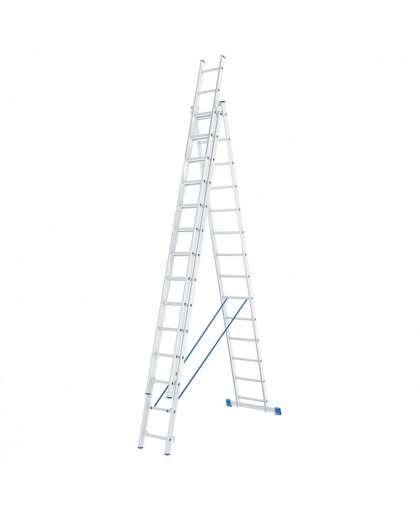 Лестница трехсекционная 97824 3*14 ступеней, Сибртех