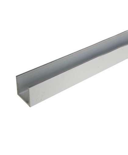 Алюминиевый швеллер 20*20*20*1,5 мм серебро 2 м, ООО ПилотПро