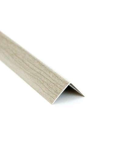 Уголок ПВХ Ideal 253 Ясень серый 20*20*2700 мм