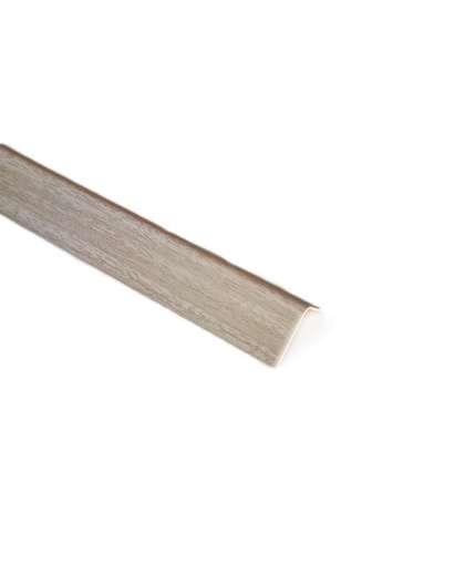 Угол арочный Идеал 20*12мм  2.7м 252 Ясень белый