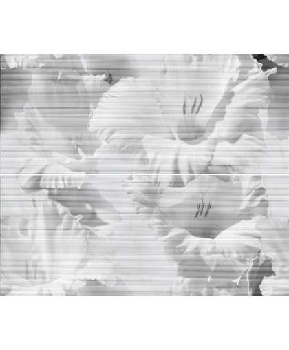 Панно Gracia Ceramica Celia white panno 01 500*600 мм из 2х частей