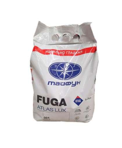 Фуга Тайфун Atlas Люкс №001 белая 5 кг