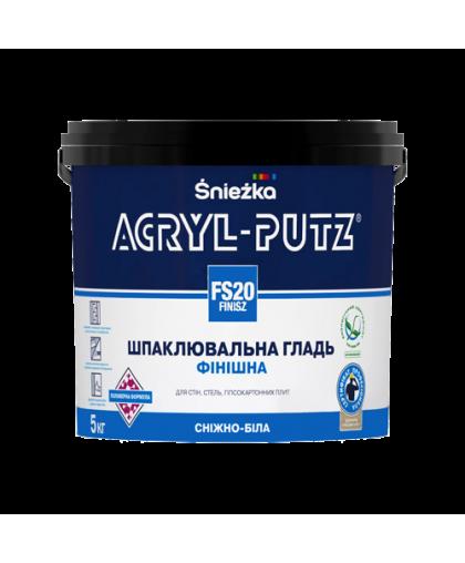 Шпатлевка Sniezka Acryl Putz Finisz FS20 5 кг