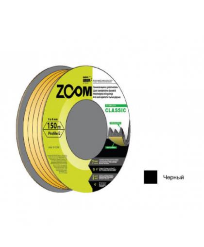 Уплотнитель Zoom Industrial Classic E черный 9*4 мм 150 м